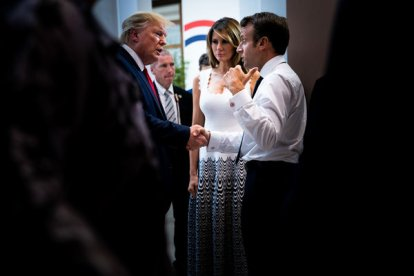 President Emmanuel Macron of France showed his greatest agility in his handling of President Trump during the Group of 7 summit in Biarritz, France.