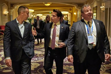 Among those raising money for opportunity-zone investments are Anthony Scaramucci, center, the founder of SkyBridge Capital, and Chris Christie, right, the former governor of New Jersey.