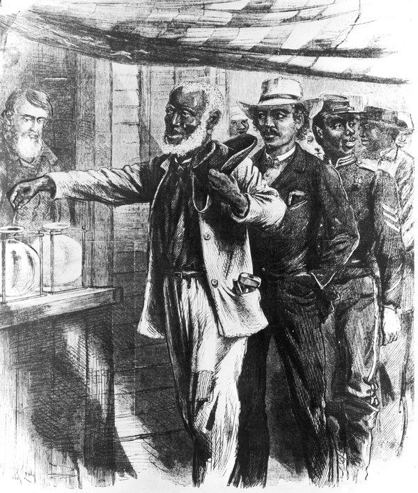 Image result for post civil war racism