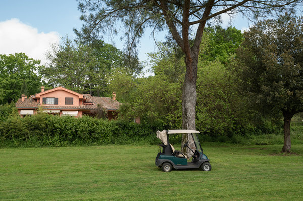 """A villa next to the golf course at Olgiata. """"It is a place for people who seek a healthy, active lifestyle,"""" said one real estate agent."""