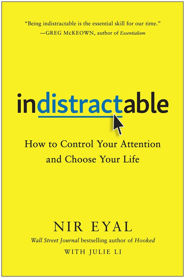 Mr. Eyal argues in his new book that the issue with tech is not screens but people's own minds, and to solve the problem they have to look within.