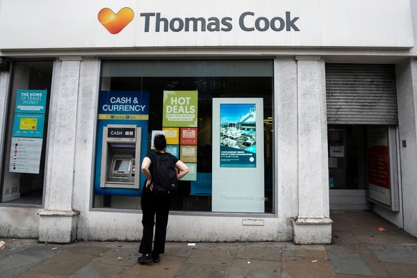 Hays Travel Buys Thomas Cook Stores Saving Thousands Of
