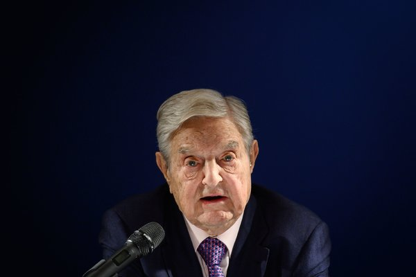 """""""I'm very proud of the enemies I have,"""" George Soros said. """"It's a perfect way to tell a dictator or a would-be dictator if he identifies me as an enemy."""""""