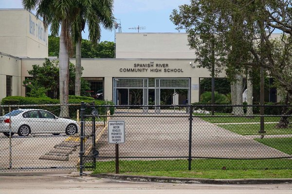 The principal of Spanish River Community High School in Boca Raton, Fla., was removed earlier this year and fired this week by school officials.