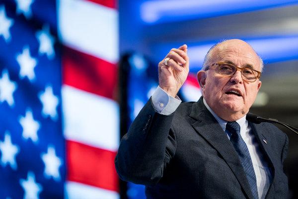 Rudy Giuliani, el abogado personal de Trump, dirigió tras bambalinas la política exterior en Ucrania.