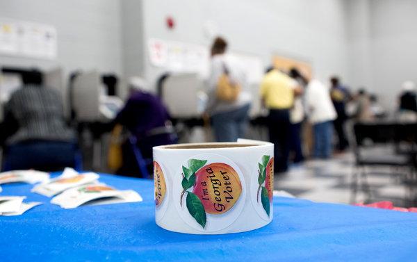 Voters last year in Atlanta.