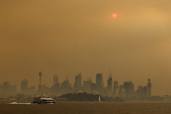 Australia Burns Again And Now Its Biggest City Is Choking