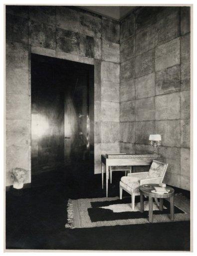The living room of Marie-Laure de Noailles's hôtel particulier in Paris, photographed circa 1925.