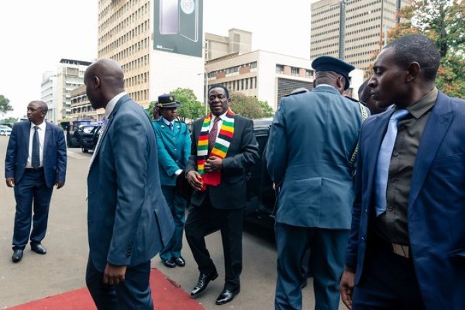 """""""No progressive nation can progress without its own currency,"""" President Emmerson Mnangagwa said. """"We will not revert back."""""""