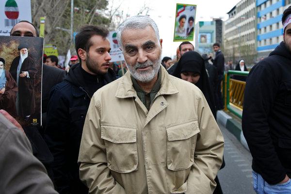 Maj. Gen. Qassim Suleimani in 2016 in Tehran.