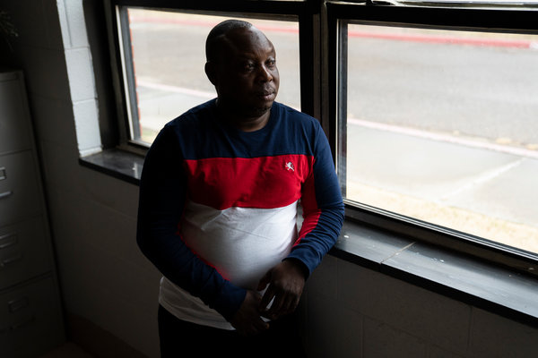 """""""I feel like I'm a Texan,"""" said Patrick Maboko, who is from the Democratic Republic of Congo. """"I have a vision of life so I can see now I am fitting in here."""""""