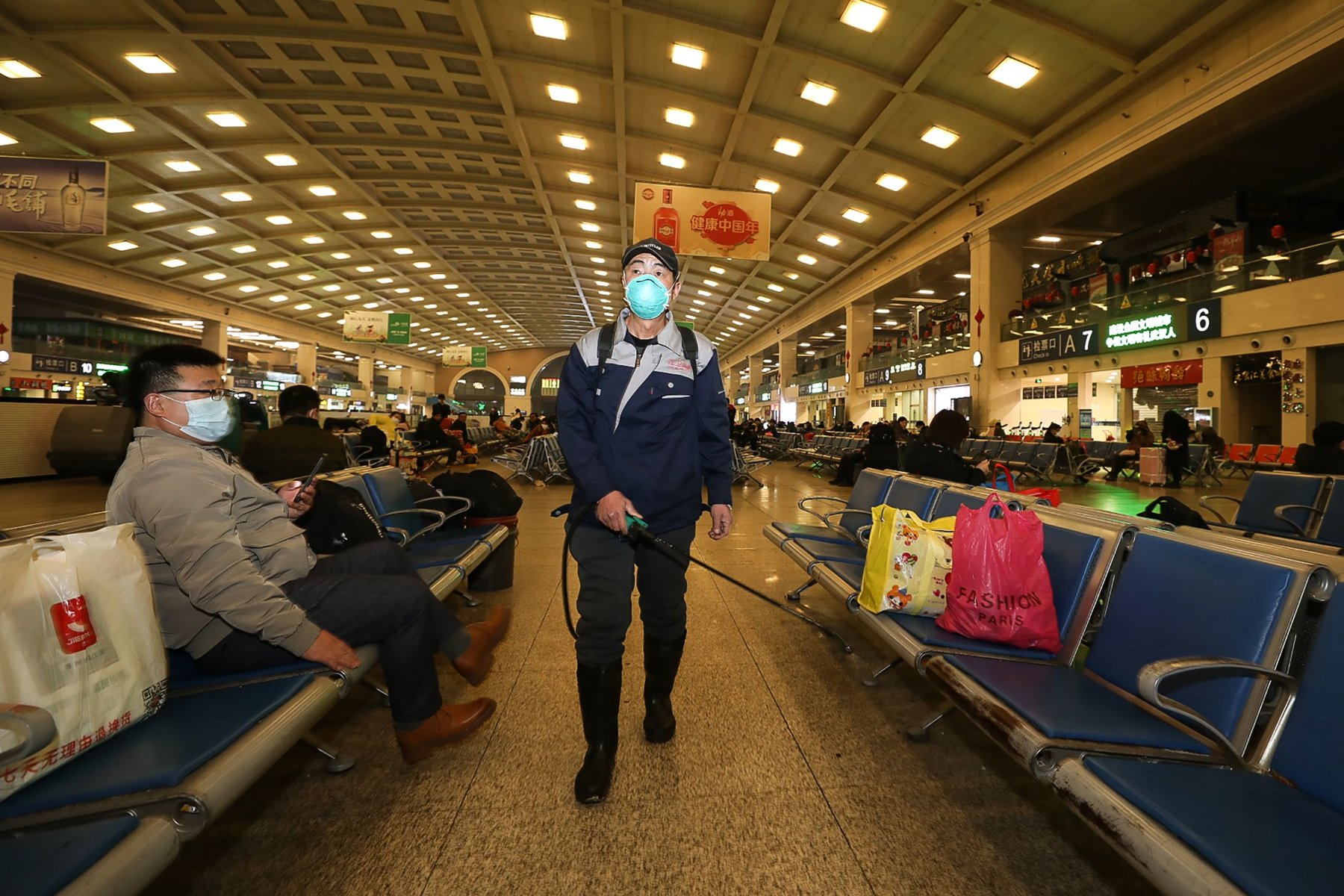 Wuhan, Center of Coronavirus Outbreak, Is Being Cut Off by Chinese ...