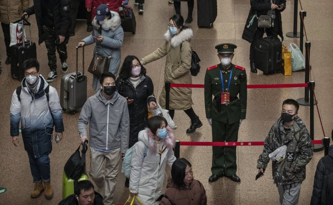 China Expands Virus Lockdown Encircling 20 Million The