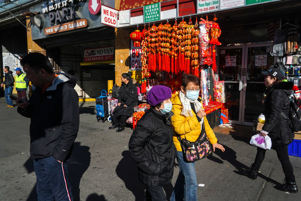Coronavirus, a Fire and Anxiety in the Chinese Community - The New ...