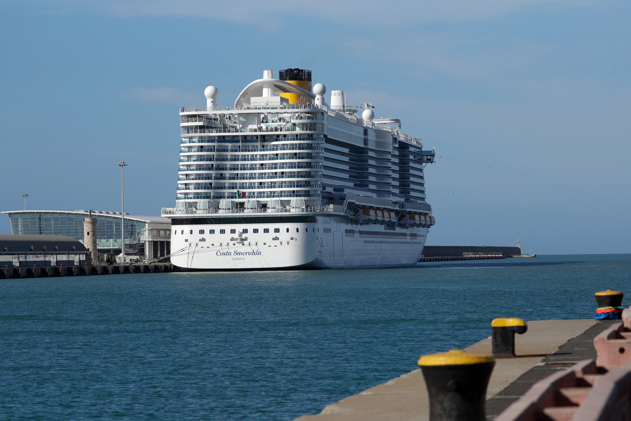 Cruise Passengers Are Held at Italian Port in False Alarm Over ...