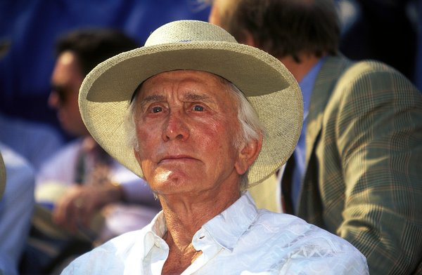 Kirk Douglas at age 78 in 1995.