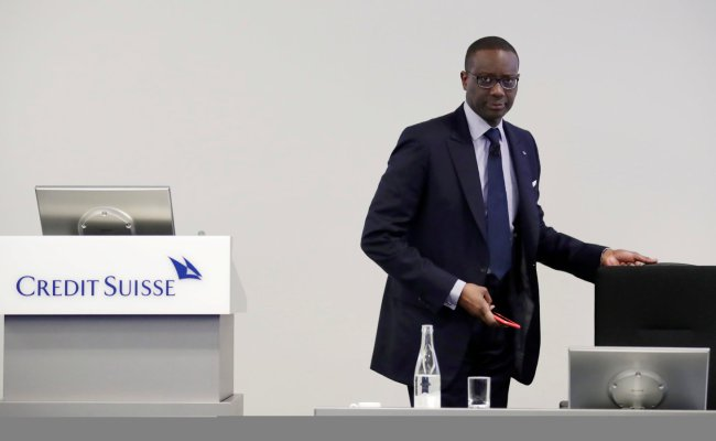 Credit Suisse C E O Tidjane Thiam To Step Down The New