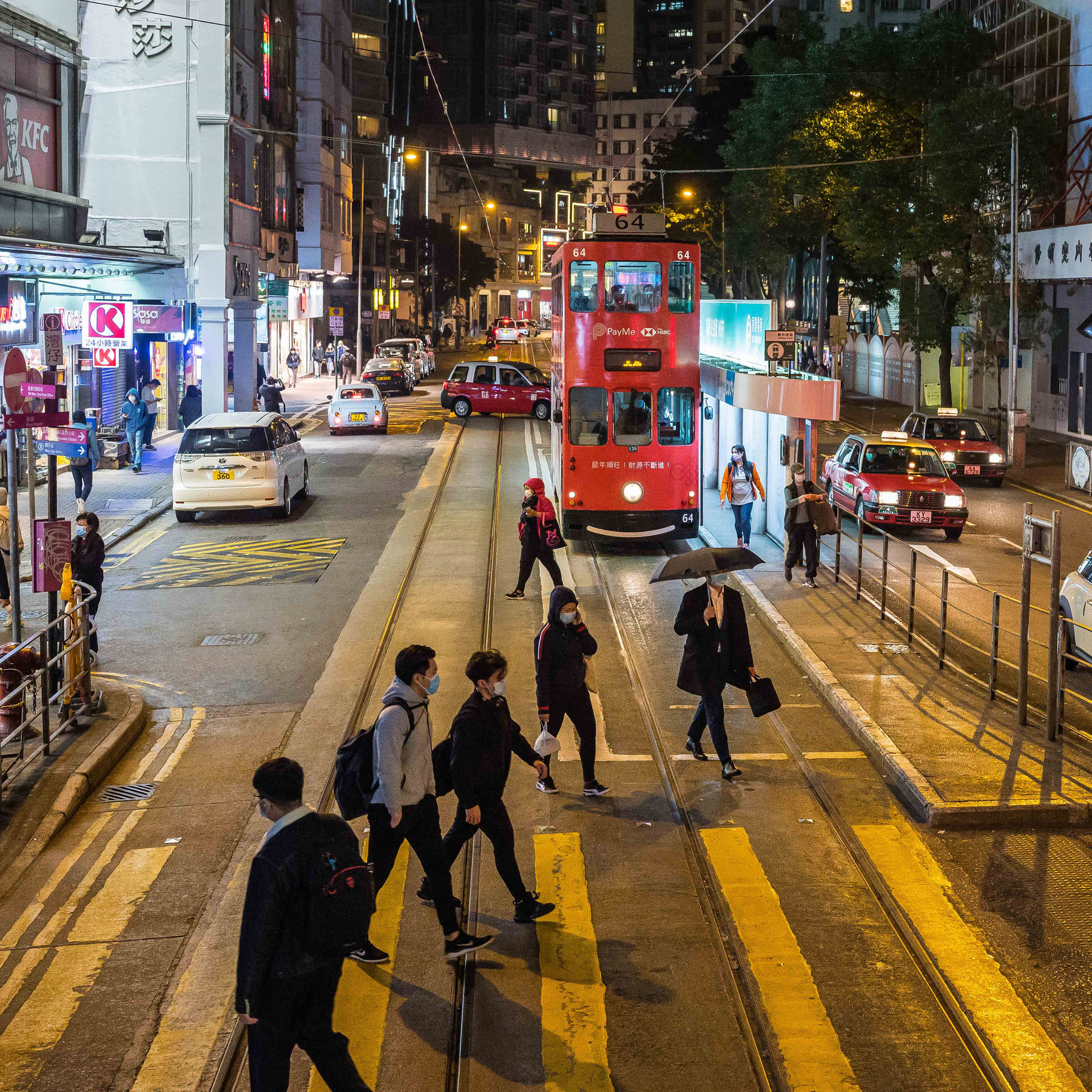 In Hong Kong, the Coronavirus Strikes a Wounded City - The New ...
