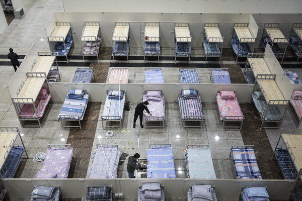 Temporary beds in Wuhan.Chen Qiushi, a Beijing-based lawyer, had been providing insights into the shortcomings of the official response to the coronavirus outbreak.