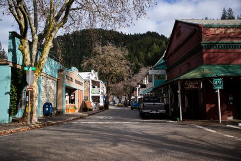 Downtown Downieville.