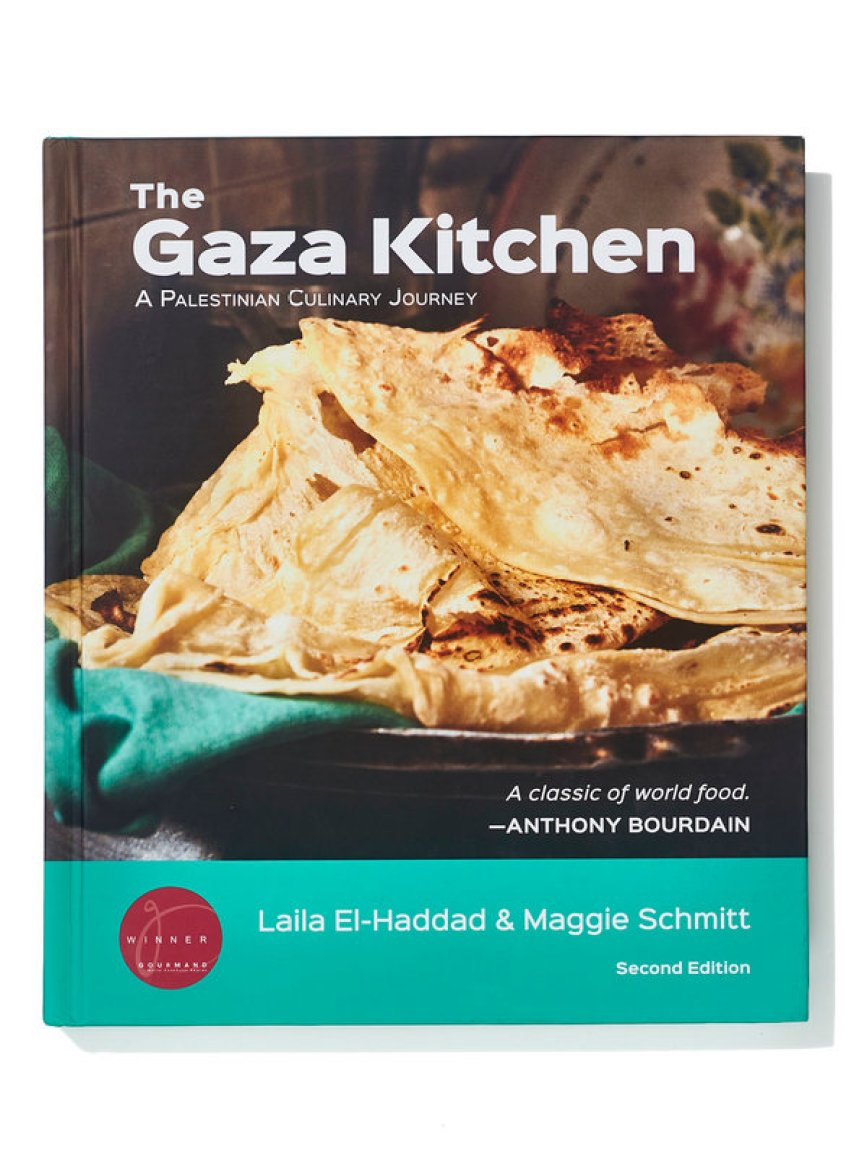 "Laila El-Haddad and Maggie Schmitt's ""The Gaza Kitchen"" (2013)."