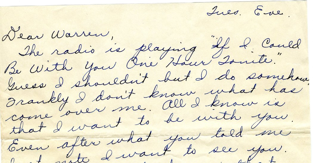 Love Letters From World War II Reveal Promises Made and Broken