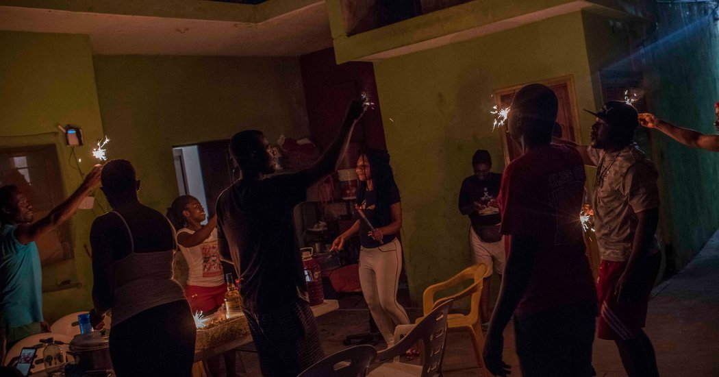 At a Bar 'Made by Africans' Migrants Put Down Roots in Mexico