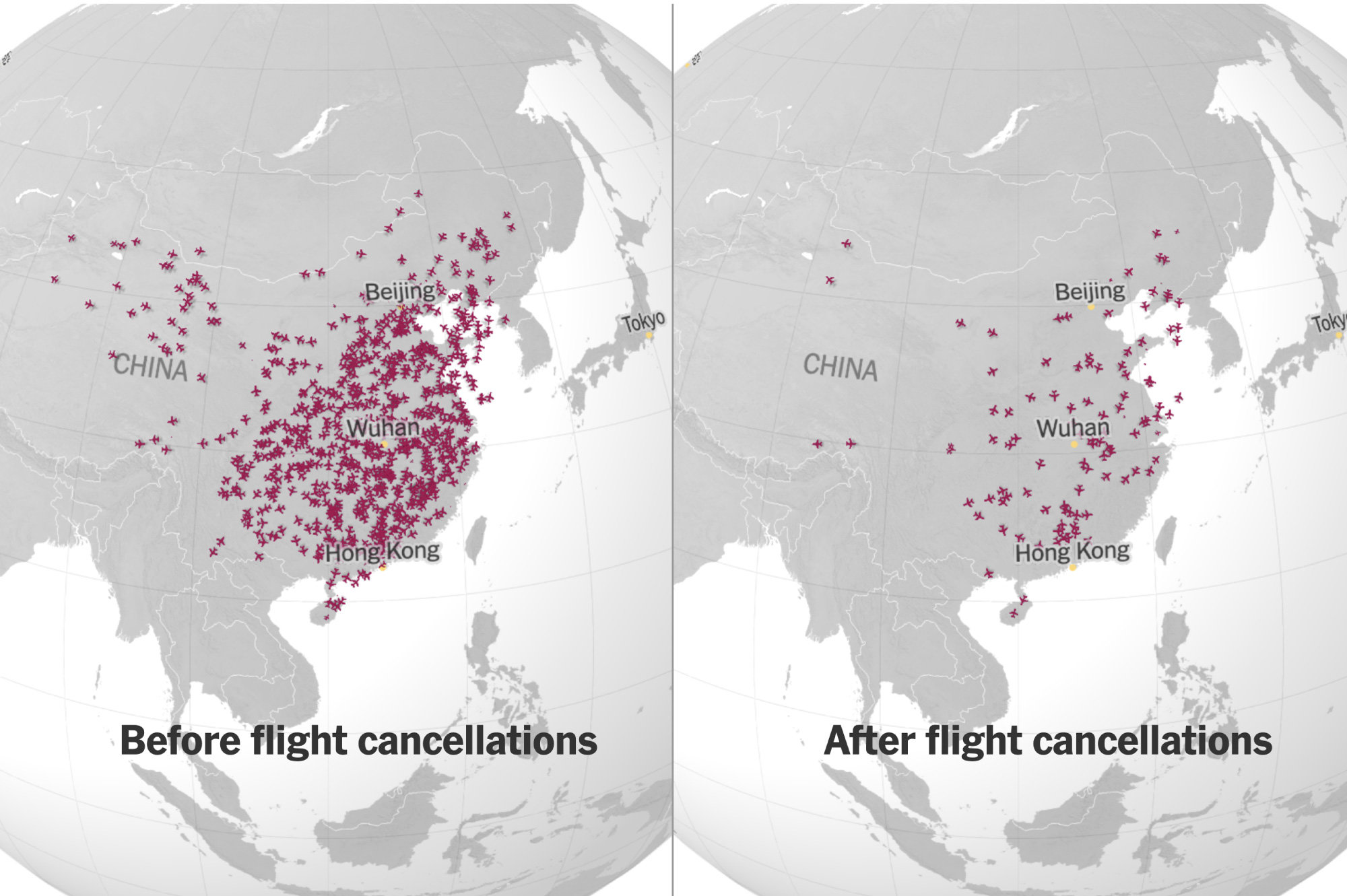 13,000 Missing Flights: The Global Consequences of the Coronavirus ...