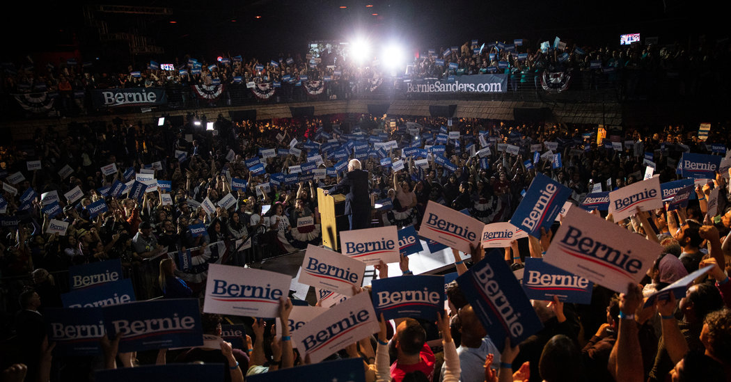 Bernie Sanders wins the Nevada Caucuses, strengthening his main advantage