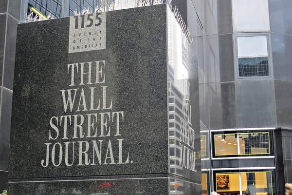 Inside The Wall Street Journal. Tensions Rise Over 'Sick Man' China Headline - The New York Times
