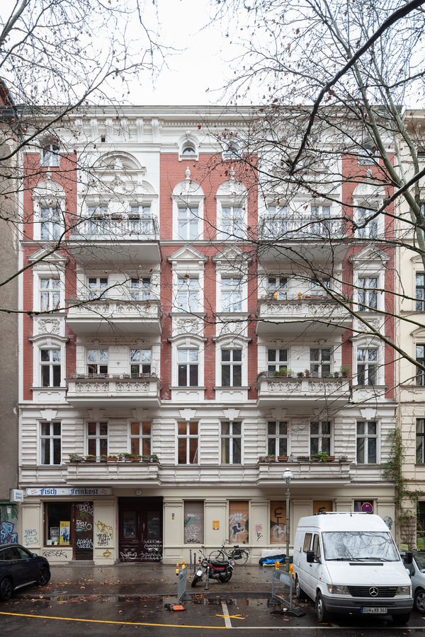 The couple settled in a building near Berlin's city center after a year and a half of living in New York.