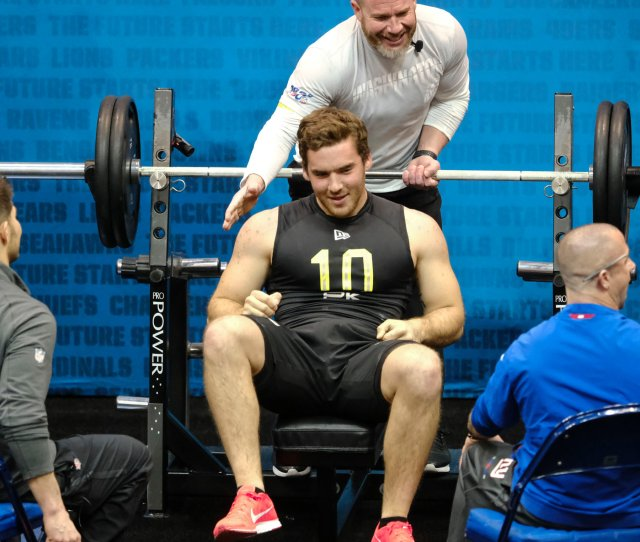 Punter With Arms Like Logs Puts On A Show At The N F L Combine