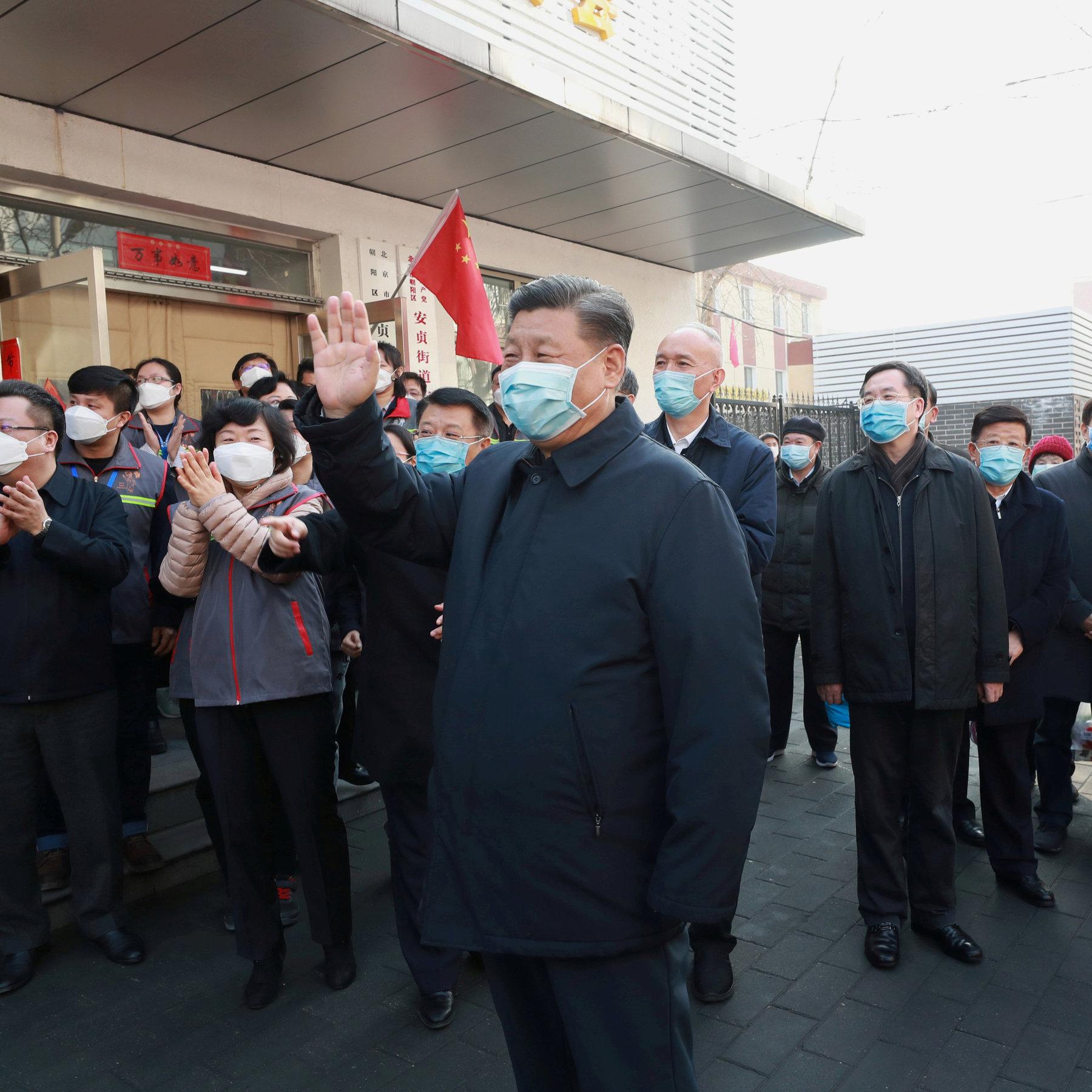 China Spins Coronavirus Crisis, Hailing Itself as a Global Leader ...