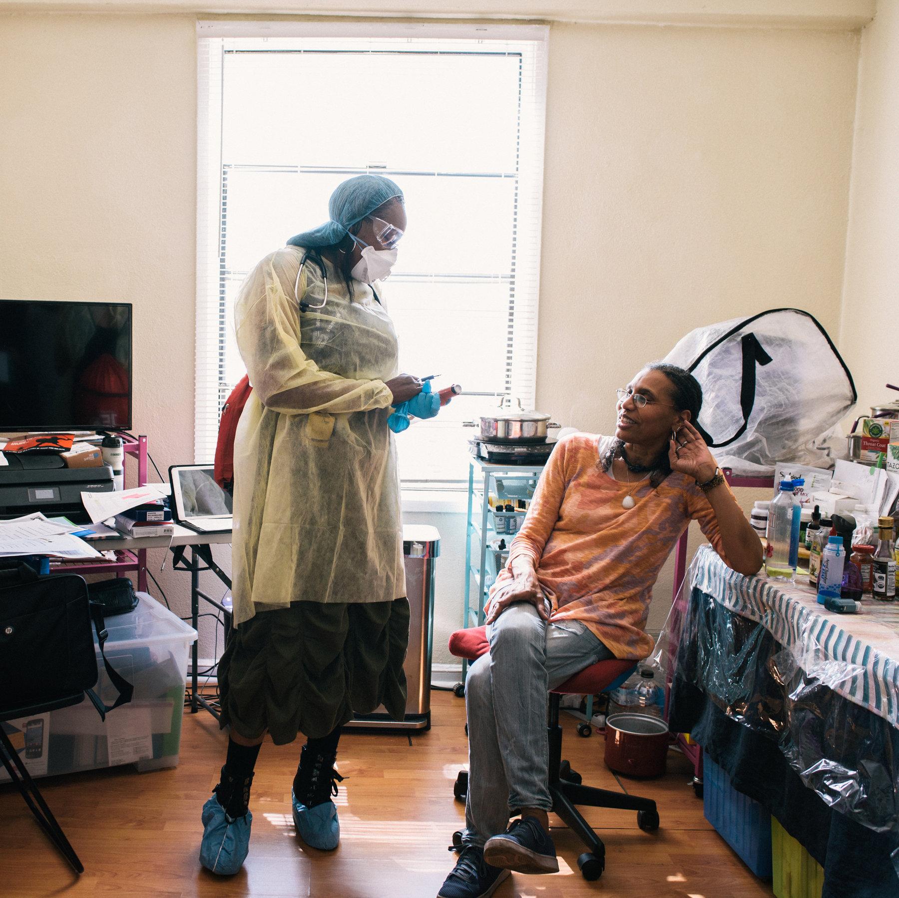 For Urban Poor, the Coronavirus Complicates Existing Health Risks ...