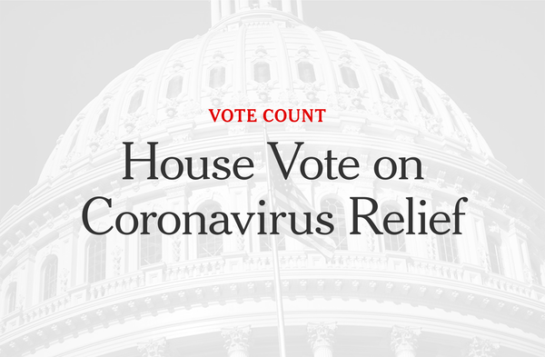 House Passes Coronavirus Relief After Democrats Strike Deal With ...
