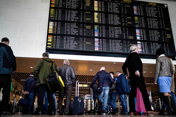 Chaos in Europe, and Anger, Over U.S. Travel Ban to Curb ...