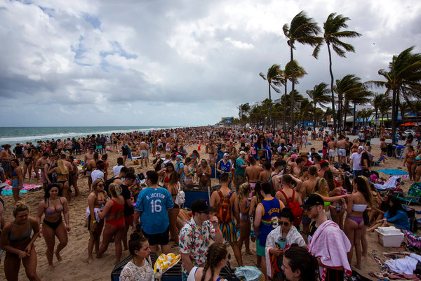 Spring Break Was In Full Mode And Then It Got Canceled The New York Times