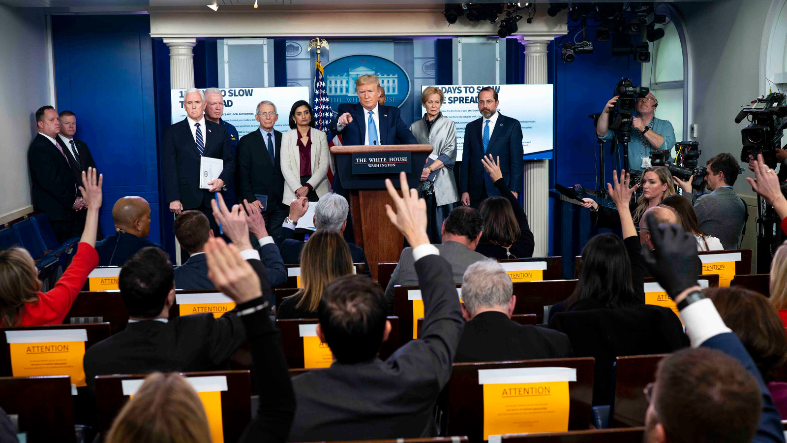 White House Takes New Line After Dire Report on Death Toll - The ...