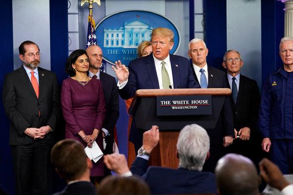 Trump Pitches $850 Billion Stimulus Package Over Coronavirus - The ...