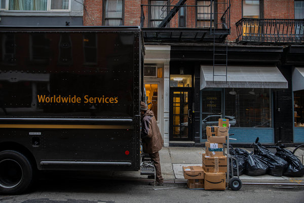 Delivery firms are scrambling to keep up with the crush of online orders.