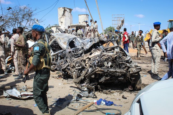 Last year, an explosives-laden truck blew up at a busy intersection in Mogadishu, the Somali capital, killing 82 people.