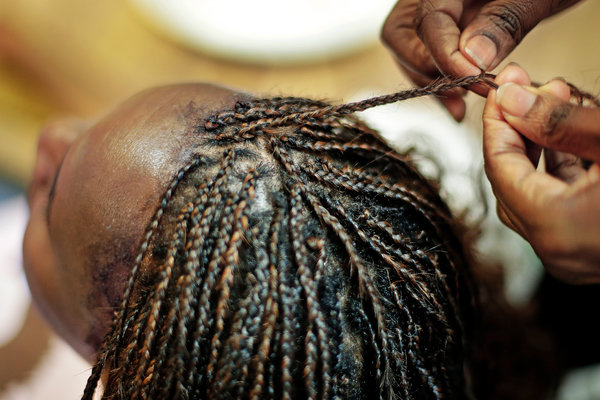 Black Women Learn To Braid While Social Distancing The New York