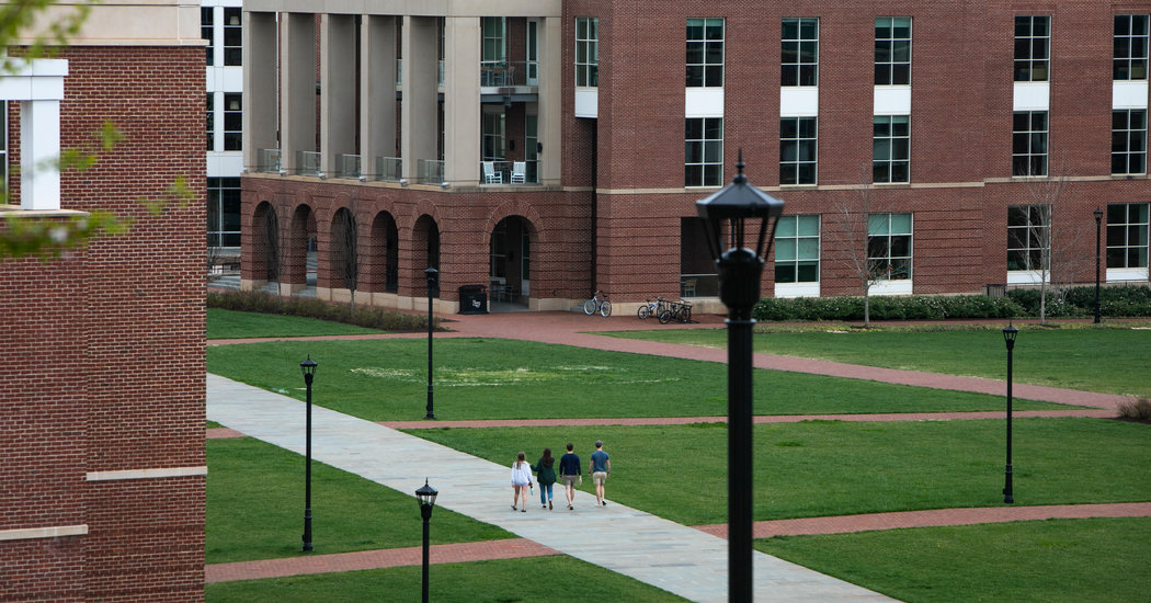 Liberty University Brings Back Its College students, and Coronavirus Fears, Too