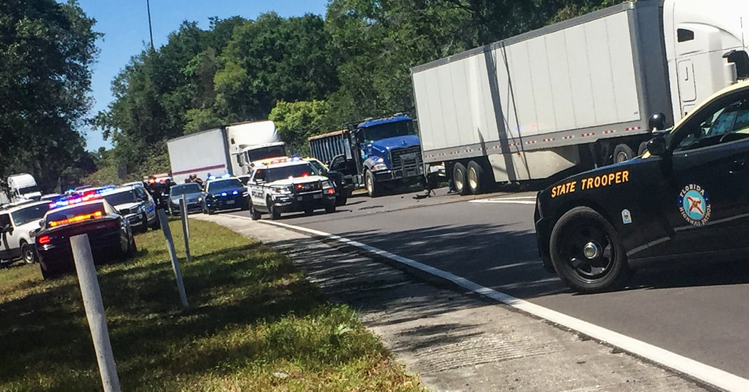 Man Wanted in Triple Killing Is Arrested After Armed Standoff on Florida Highway