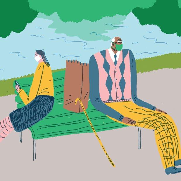 When Older Relatives Shrug at Coronavirus Restrictions - The New York Times