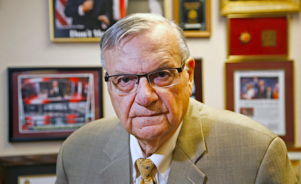 Joe Arpaio was elected sheriff of Maricopa County, Ariz., five times before he was ultimately charged with criminal contempt for defying a court order.