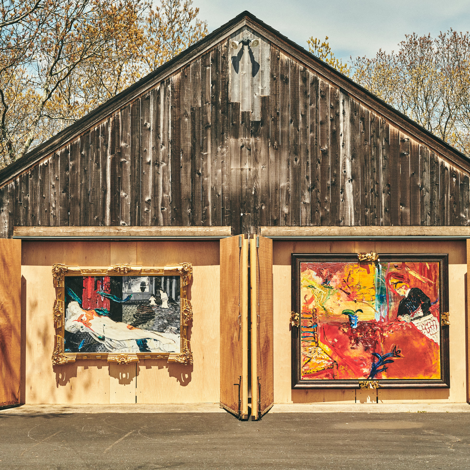 A Drive By Art Show Turns Lawns And Garages Into Galleries The New York Times