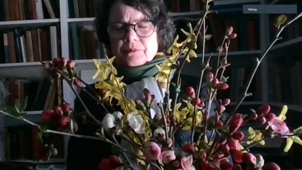 Sasha Chavchavadze, 65, worships from Wellfleet, Mass.