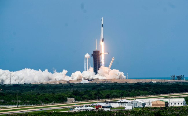 Spacex Launch Highlights From Nasa Astronauts Trip To