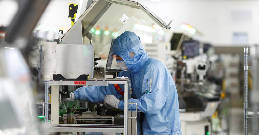 Photo of Lawmakers Push to Invest Billions in Semiconductor Industry to Counter China